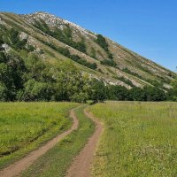Дорога к Юрактау :: Любовь Потеряхина