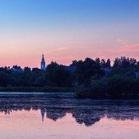 Розовый закат :: Ирина Приходько
