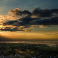 Закатнофотошопное... :: Сергей Офицер
