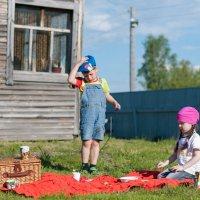 Юные фермеры :: Мария Сидорова