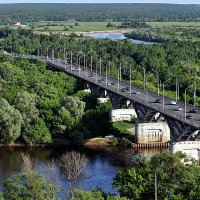 Мост через Клязьму :: Валерий Викторович РОГАНОВ-АРЫССКИЙ