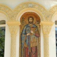 Мозаичный образ на апсиде   Церковь Георгия Победоносца :: Александр Качалин