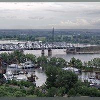 Пасмурный день железнодорожный мост :: Арсений Корицкий