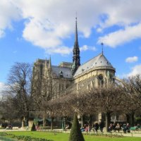 Notre Dame de Paris :: Zinaida Belaniuk