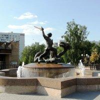 Памятник-фонтан Георгию Победоносцу :: Александр Качалин