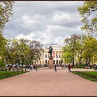 СПб. Памятник великому поэту А.С. Пушкину :: Евгений Никифоров