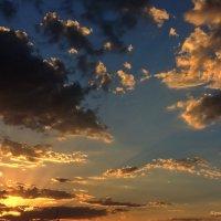 Закат из моего окна :: Юрий Владимирович