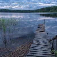 Вечер на озере :: Андрей Кротов