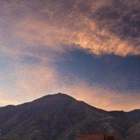 Закат над горой Авила :: Дмитрий Иванов