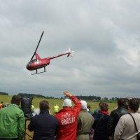Пилотаж на вертолете R44 :: Олег Чернов