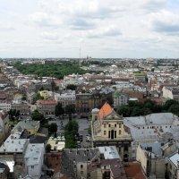 г. Львов вид с городской ратуши :: Серёга Захаров