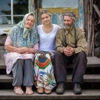 Внучка приехала :: Виктор Ковчин
