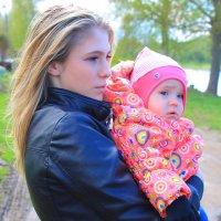 мать и дочь :: Дарья Нестерова