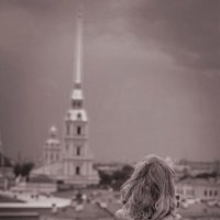 На крыше :: Elena TROYAnowSkaya