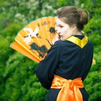Взгляд гейши :: Алёна Куценко