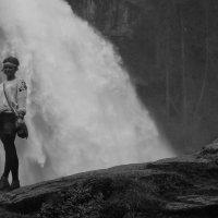 Татьяна и Кримл (водопад) :: Daniel Goldberg