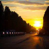 Городской закат :: Сергей Афанасьев