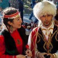 Ханты на Бажовском фестивале :: игорь козельцев