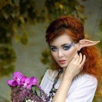 Эльфийская невеста Анастасия :: Сергей Епанчинцев