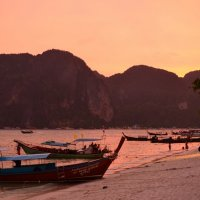 Закат на острове Краби. :: Ольга