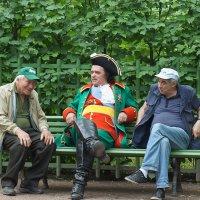 сказ про то, как царь с холопами любезничал :: Степан Горохов