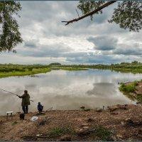 Рыбачка и рыбачок :: Евгений Никифоров