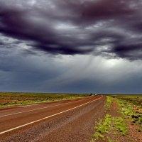 Шквал над пустыней. :: Эдуард Закружный