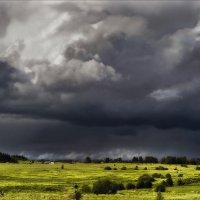 Там небо встретилось с землей..... :: Елена Kазак