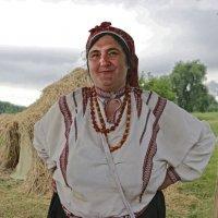 Вечерний портрет. Мария Гхаш Тихонова, знаменитая мастерица. :: Татьяна Нестерова