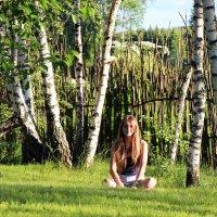 В деревне :: Alexandra Anischenko