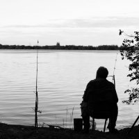 В ожидании поклёвки :: Иван Белоглазов