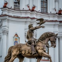 Памятник князю Витебскому,великому князю Литовскому Ольгерду(1296-1377г.г.) :: Александр Рамус