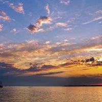 Закат на Чёрном море :: Galinka *K