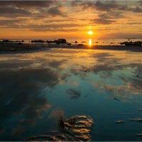 Ещё один закат на заливе :: Алексей Говорушкин