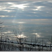 Таганрогский залив. Февраль 2014г. :: Ирина Прохорченко