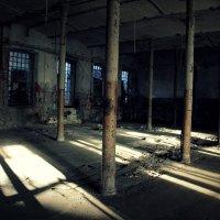 заброшенный цех завода Красный треугольник :: Tasha Скосырева