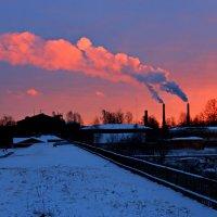 Городской закат :: Сергей Григорьев