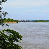 Река Бия. Бийск. :: Олег Афанасьевич Сергеев