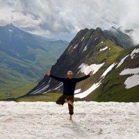 Йога на высоте 2300 м :: Виталий Юрчук