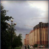 В городе после дождя. :: Ольга Кривых