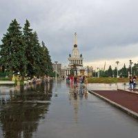 После дождя (ВДНХ) :: Сергей Фомичев
