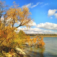 Утонула осень в ласковой волне... :: Тамара (st.tamara)