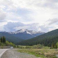Трасса в горах :: юрий Амосов