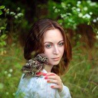 Встреча в лесу :: Галина