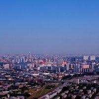 Фото с 76 этажа одного из зданий Москва Сити :: Наталья Солженикина