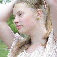 Девушка с сережкой :: Наталия Макарычева