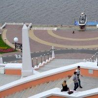 На Чкаловской лестнице :: ирина