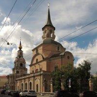 Церковь Петра и Павла в Новой Басманной слободе :: Александр Качалин