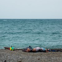 """На пляжу..."" :: Александр Хорошилов"