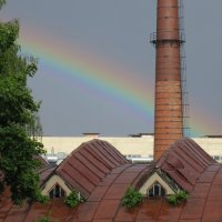 Первая радуга в этом году... :: novik Юрий Новиков